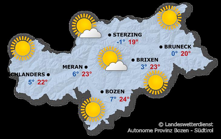Das Wetter heute, 08.04.2020