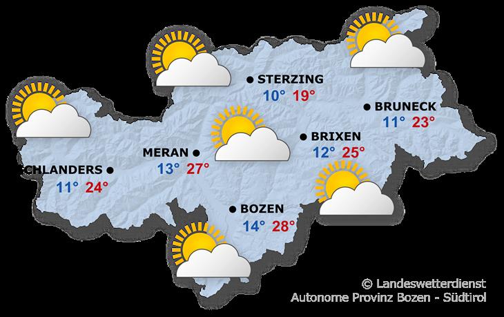 Das Wetter heute, 05.08.2021