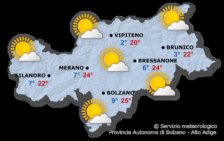 Previsione per domani, 09.05.2021